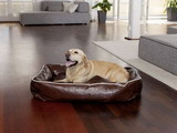 Zvierací pelech Dogbed Leather Brown L