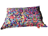 Sedací vak Vipera Pillow Triangles
